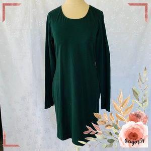 H&M Basic Knit Green Dress M